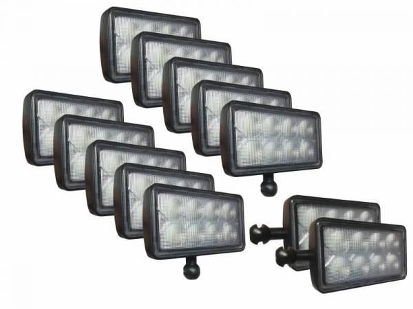 Tiger Lights - LED Tractor Light Kit for John Deere 8000 Series, JDKit-1