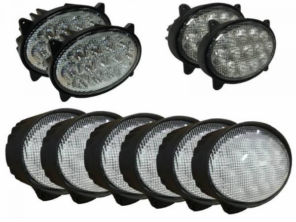 Tiger Lights - LED Light Kit for John Deere 20 Series Tractors, JDKit-2