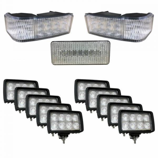 Tiger Lights - Complete LED Light Kit for Case/IH STX Tractors, CaseKit-7