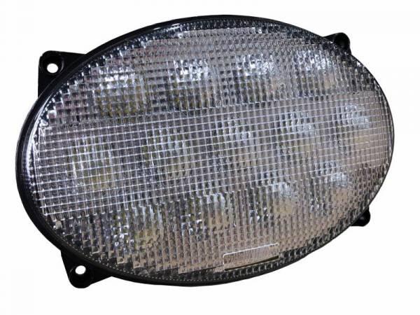 Tiger Lights - LED Oval Headlight for John Deere Tractors, TL7820