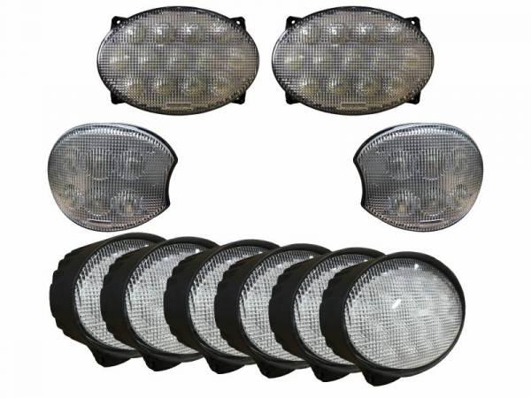 Tiger Lights - LED Light Kit for Late John Deere 20 & 30 Series Tractors, JDKit-8