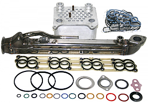 International - VT365 - 6.0L Ford Oil Cooler & EGR Cooler Kit