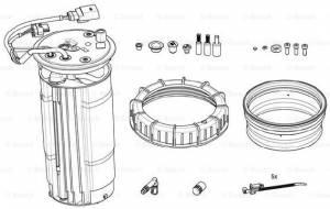 3.0L - '10 - '16 - DEF Heater Kit 14-16