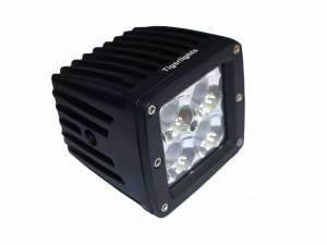 Titan XD Diesel - LED Lights - Tiger Lights - LED Square Flood Beam, TL200F