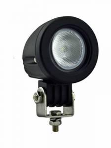 Titan XD Diesel - LED Lights - Tiger Lights - Single LED Flood Beam, TL906F