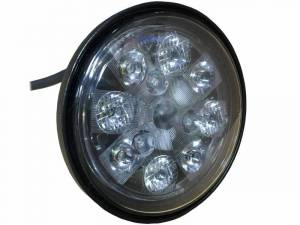 Tractors - 8650 - Tiger Lights - 24W LED Sealed Round Light, TL3015, RE336111