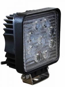 Titan XD Diesel - LED Lights - Tiger Lights - LED Square Spot Beam, TL100S