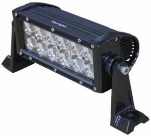 "Tiger Lights - 8"" Double Row LED Light Bar, TLB400C"