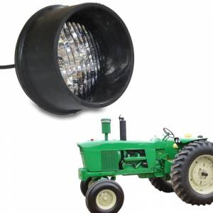 Tractors - 4000 - Tiger Lights - LED Round Tractor Light (Rear Mount), TL2060