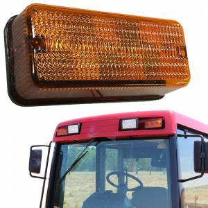 Tractors - CX60 - Tiger Lights - LED Amber Light, 92185C1