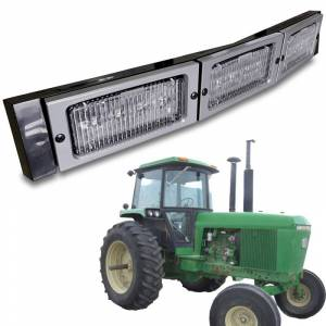 Tractors - 4455 - Tiger Lights - LED Hood Conversion Kit, TL4000
