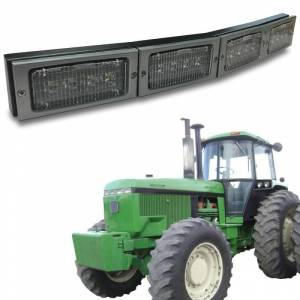 Tractors - 4760 - Tiger Lights - LED Hood Conversion Kit, TL4900