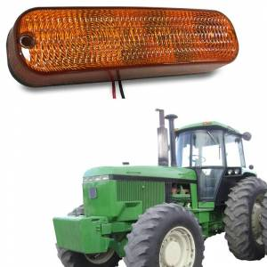 Tractors - 7510 - Tiger Lights - LED Amber Cab Light, AR60250