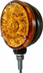 Tractors - 2520 - Tiger Lights - Double Amber LED Flashing Light, TLFL2