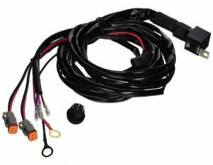 Titan XD Diesel - LED Lights - Tiger Lights - Wire Harness with Dual Deutsch Connectors, TLWH12