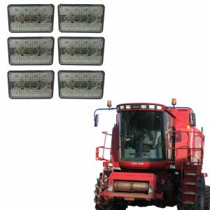 Combines - 2144 - Tiger Lights - LED Case/IH Combine Cab Light Kit, TL2388-KIT