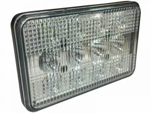 Tractors - 4760 - Tiger Lights - LED Tractor Light High/Low Beam, TL6060