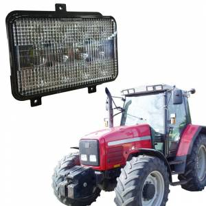 Tractors - 9735 - Tiger Lights - LED High/Low Beam for Agco, TL6050