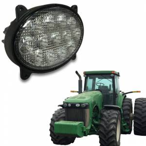Tractors - 9530 - Tiger Lights - LED Inner Oval Hood Light, TL8220