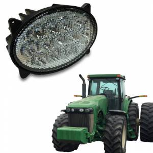 Tractors - 8320 - Tiger Lights - LED Oval Headlight Hi/Lo Beam, TL8520
