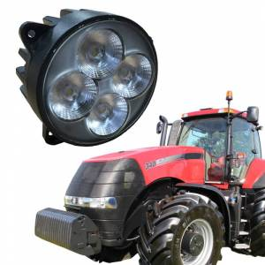 Tractors - 6105R - Tiger Lights - LED Magnum Headlight, TL6020