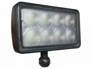 Hay & Forage - 4895 Windrower - Tiger Lights - 8000 Series LED Tractor Light w/ Interchangeable Mounts, TL8400