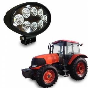 Tractors - M7040 - Tiger Lights - Kubota Oval LED Flood Light, TL5700