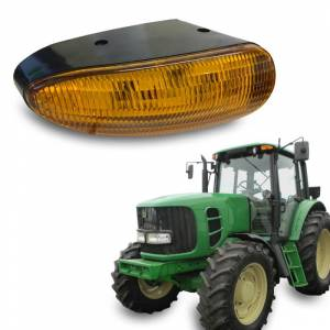 Tractors - 7220 - Tiger Lights - LED Amber Cab Light, TL8020