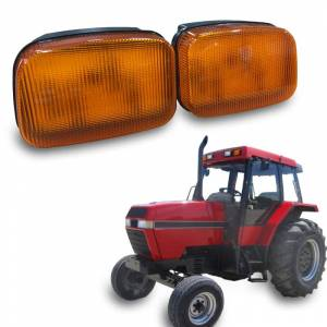 Tractors - 5140 - Tiger Lights - LED Case/IH Amber Cab Light, TL7010
