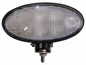 Tractors - 6190R - Tiger Lights - Bottom Mount Oval LED Light, TL8060