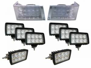 Tractors - 7210 - Tiger Lights - Complete LED Light Kit for Case/IH Magnum Tractors, CaseKit-1