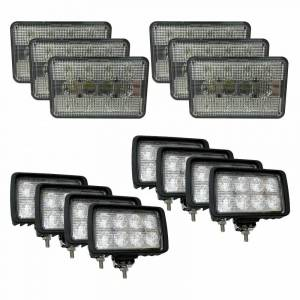 Combines - 2144 - Tiger Lights - Complete LED Light Kit for Case/IH Combines, CaseKit-2
