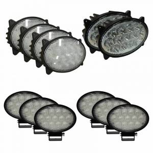 Combines - 5088 - Tiger Lights - Complete LED Light Kit for Case/IH Combines, CaseKit-3