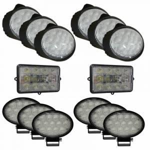 Combines - 9660 - Tiger Lights - Complete LED Light Kit for John Deere Combines, JDKit-5