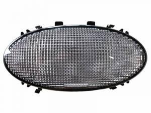 Tiger Lights - Oval Flush Mount LED Amber Cab Light for R Series Tractors, TL8070 - Image 2