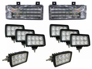 Tiger Lights - Complete LED Light Kit for Ford New Holland Versatile Genesis Tractors, FNHKit-1