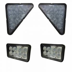 Skid Steers - 753 - Tiger Lights - Complete LED Light Kit for Bobcat Skid Steer, BobcatKit-1