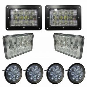 Tractors - 5488 - Tiger Lights - Complete LED Light Kit for Case/IH 88 Series, CaseKit-5