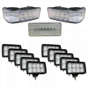 Tractors - STX430 - Tiger Lights - Complete LED Light Kit for Case/IH STX Tractors, CaseKit-7