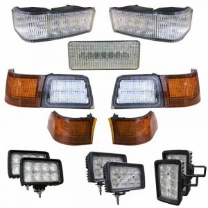 Tractors - MX240 - Tiger Lights - Complete LED Light Kit for Case/IH MX Tractors, CaseKit-8