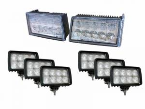 Tractors - 5140 - Tiger Lights - Complete LED Light Kit for Case/IH Maxxum Tractors, CaseKit-9