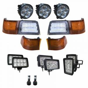 Tractors - MX305 - Tiger Lights - Complete LED Light Kit for Newer Case/IH Magnum Tractors, CaseKit-4