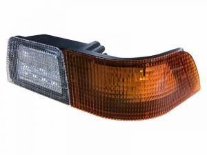 Tractors - MXM175 - Tiger Lights - Left LED Corner Amber Light with Work Light for Case/IH Tractors, TL6120L