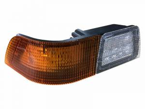 Tractors - MXM175 - Tiger Lights - Right LED Corner Amber Light with Work Light for Case/IH Tractors, TL6120R