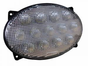 Tractors - 7720 - Tiger Lights - LED Oval Headlight for John Deere Tractors, TL7820