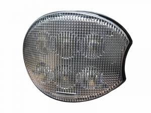 Tractors - 7720 - Tiger Lights - Right LED Oval Corner Lights for John Deere Tractors, TL7830R
