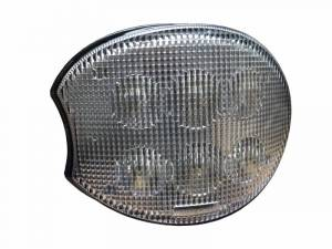 Tractors - 7720 - Tiger Lights - Left LED Oval Corner Lights for John Deere Tractors, TL7830L