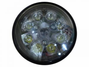 Tiger Lights - 24W LED Sealed Round Work Light w/Red Tail Light, TL3005 - Image 2
