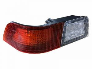 Tractors - MX240 - Tiger Lights - Left LED Tail Light for Case/IH MX Tractors, White & Red, TL6140L