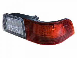 Tractors - MX240 - Tiger Lights - Right LED Tail Light for Case/IH MX Tractors, White & Red, TL6140R